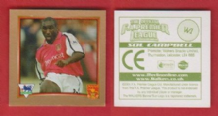 Arsenal Sol Campbell England (G)